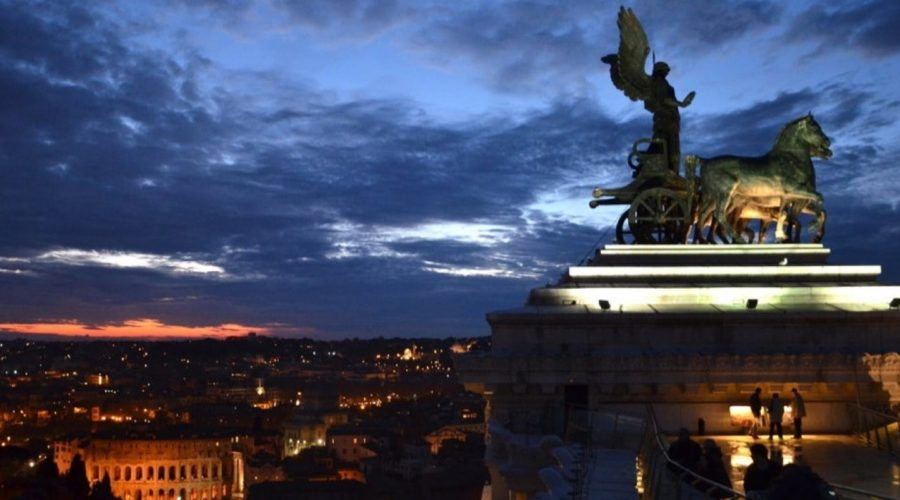Sunset in Rome. 5 attractions of Rome to see at sunset that you cannot absolutely miss