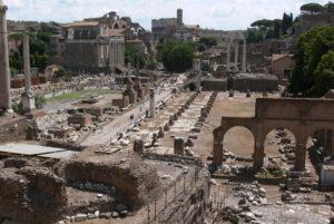 forum from campidoglio 1