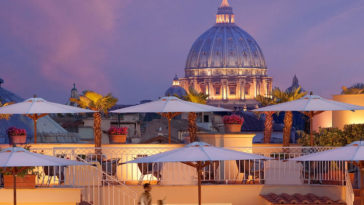 restaurants with incredible terrace over rome