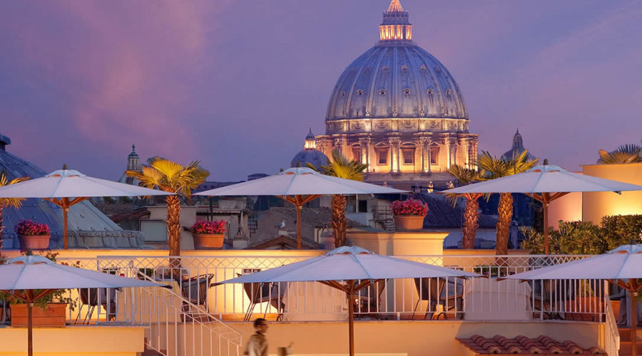The terraces of Rome: 4 charming restaurants with great views