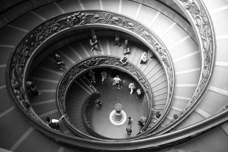 Vatican Museums: scala elicoidale